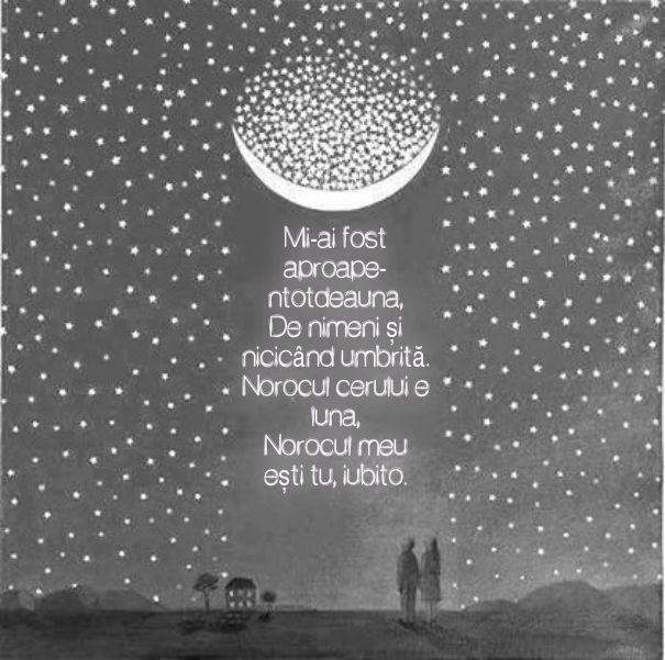 #citat #poezie #grigorevieru #luna #stele #iubire #arta