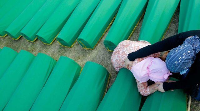 Srebrenica'da Hüzünlü Tören