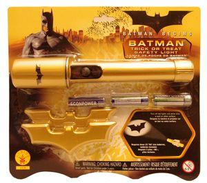 Batman-ficklampa med Batman-signatur