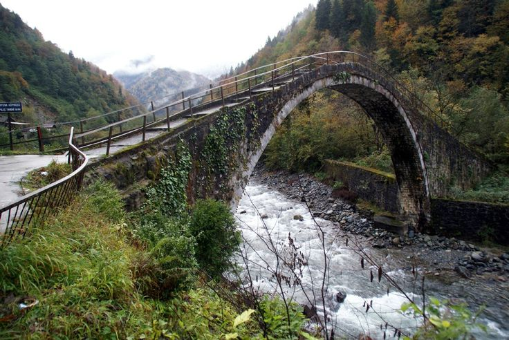 старые мосты. АБХАЗИЯ.