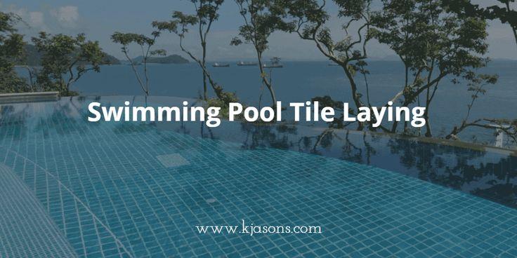 Swimming Pool Tile laying