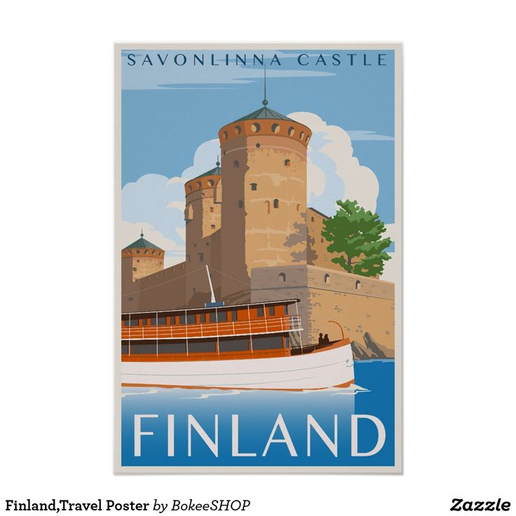 Finland,Travel Poster