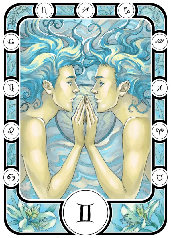 Gemini by micaelopes.deviantart.com.  Get in-depth info on Gemini traits & personality @ http://www.buildingbeautifulsouls.com/zodiac-signs/western-zodiac/gemini-star-sign-traits-personality-characteristics/