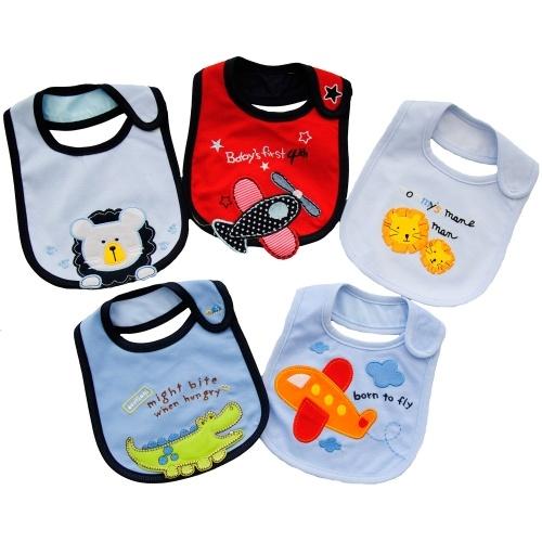 Set 5 #Bavaglini #Plastificati per #Neonato http://www.allegribriganti.it/neonato/set-5-bavaglini-plastificati-per-neonato/