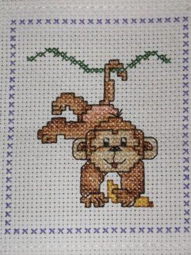 monkey cross stitch patterns: