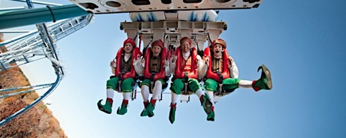 17 best images about christmas at the beach on pinterest - Busch gardens christmas town rides ...