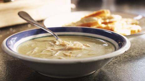 Eén - Dagelijkse kost - preisoep met kip en bruschetta   Eén