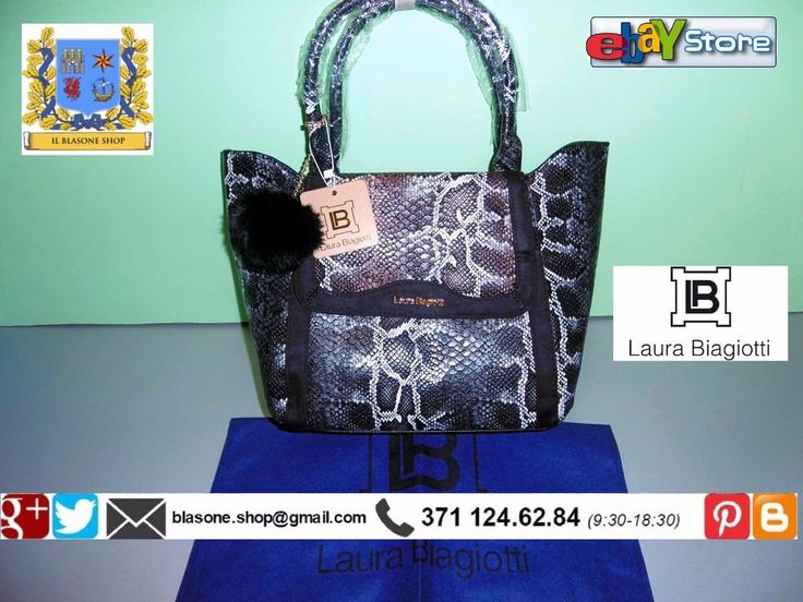 Borsa Shopping Donna Laura Biagiotti New Novità A/I Simphony Animalier Fashion