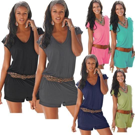 2018 European summer wear new deep v – neck sleeveless panties cool sexy beach casual panties 9925