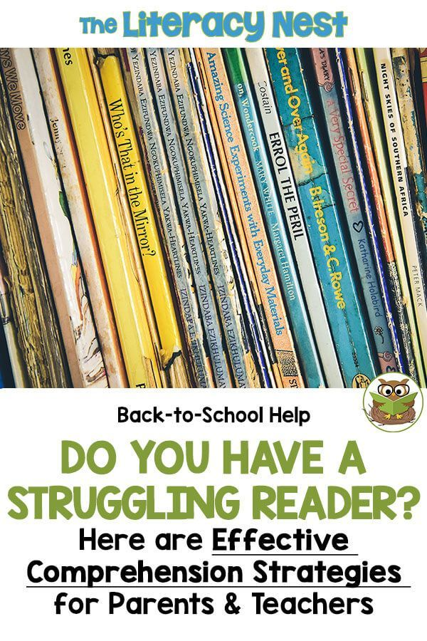 Effective Comprehension Strategies For Struggling Readers 4th