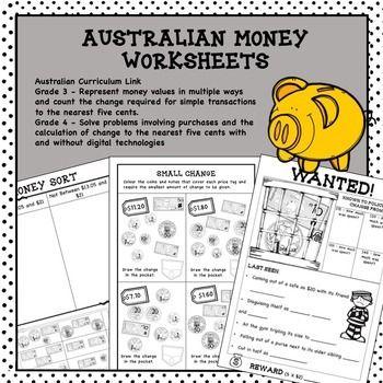 50 best australian money worksheets images on pinterest money worksheets australian money and. Black Bedroom Furniture Sets. Home Design Ideas