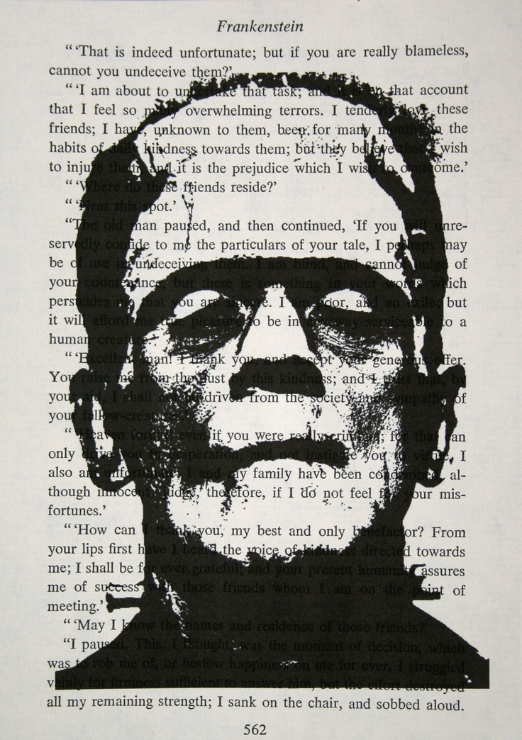 the monsters in the literature faust and frankenstein The universal monsters frankenstein after that he worked on 15 monster movies over the next thirty years and his name on a film became.