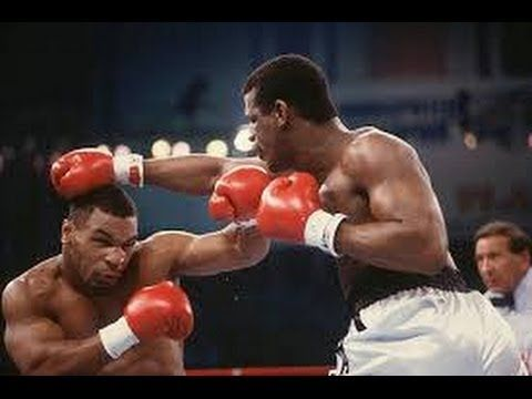 The most intimidating ring walk and performance I have ever seen. Mike Tyson destroys the previously undefeated Michael Spinks before even laying a glove on him, then proceeds to tear him apart in 91 seconds. Compelling.