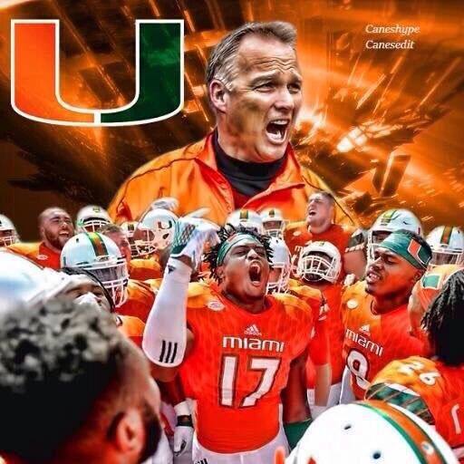 Coach Mark Richt ~ Miami Hurricanes