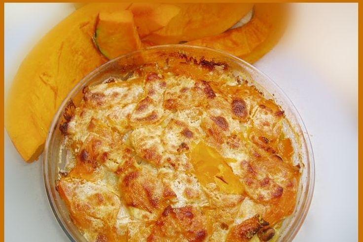 Recette de Gratin de potimarron, pommes de terre et jambon : la recette facile