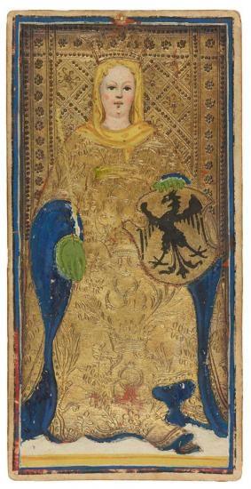 The Empress | Visconti-Sforza Tarot Cards | The Morgan Library & Museum