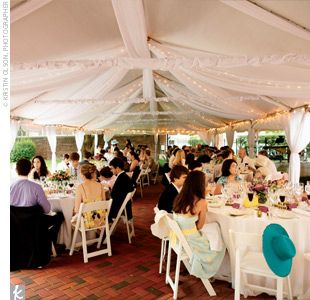 Backyard tent wedding & The 25+ best Backyard tent wedding ideas on Pinterest | Tent ...