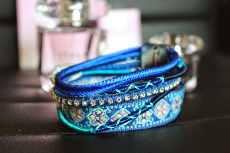 My new bracelet http://sweetsweetthings.blogspot.fi/2014/05/slightly-hippy.html