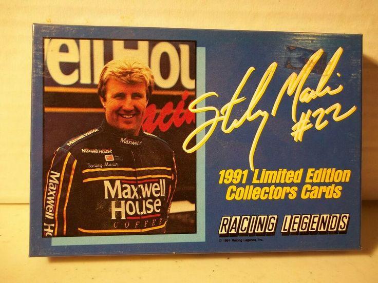 1991 Racing Legends Sterling Marlin Set NASCAR