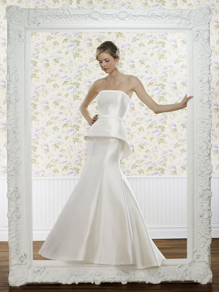 The Steven Birnbaum Collection- Liz wedding gown, available at Something White, A Bridal Boutique