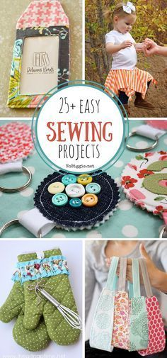 25+ easy sewing projects  – Sewing patterns