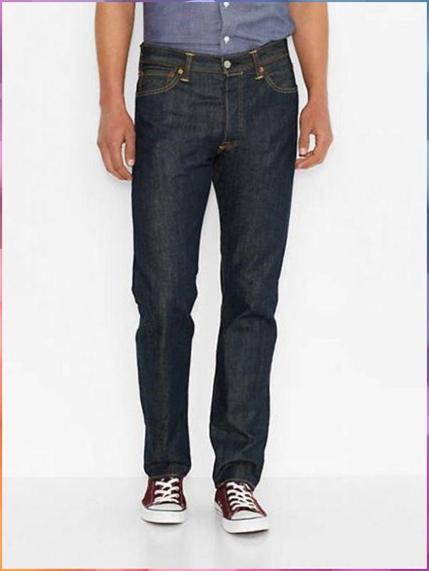 501® Levi's® Original Fit Jeans - Dark Blue / Dark Blue in ...