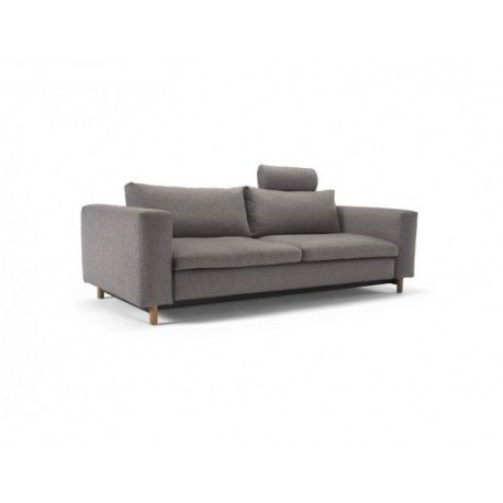 MAGNI QUEEN SIZE SOFA BED ~~~ The Magni Queen Sofa Bed stays true to its name as it presents a magnificent three-seater sofa bed that is finely crafted and meticulously designed by renowned Danish designer, Per Weiss.