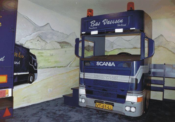vrachtwagenkamer