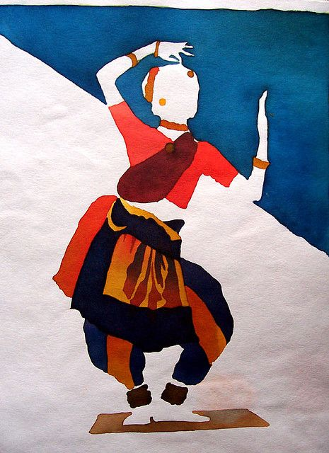 Classical dance painting