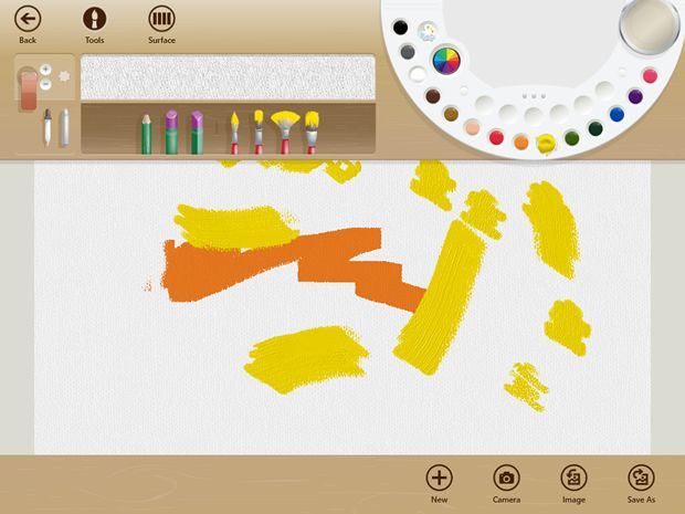 fresh paint a stunning touchscreen painting app - Coloring Apps For Kids