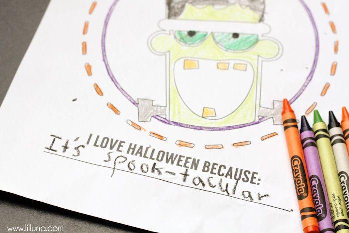 Halloween classroom treat ideas that aren't candy