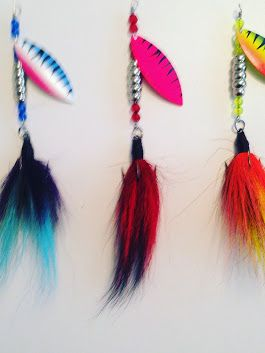 Skippers Tackle will never make any Musky Pike or walleye bucktails fishing l...