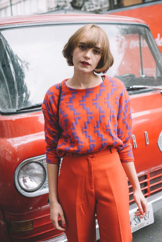 Colorful Style From the Streets of Mexico City // Mod Fashion