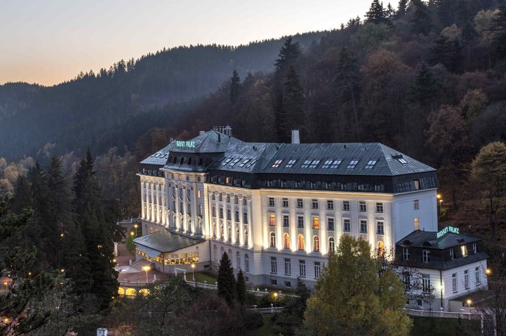 Hotel Radium Palace in Jachymov