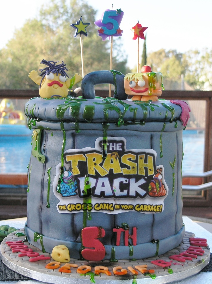 Trash Pack cake made by Sonja at
