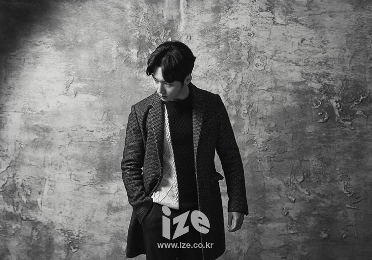 Byun Yo Han - ize Magazine January Issue '15