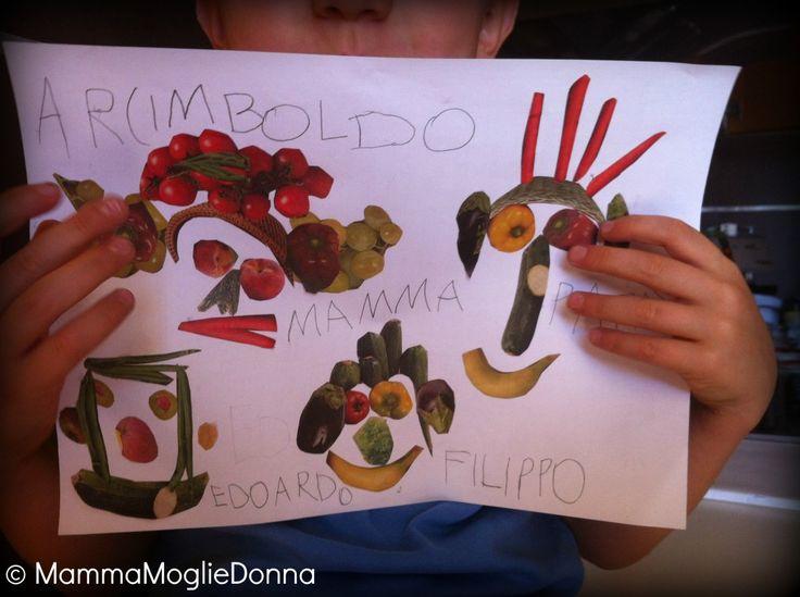 """Avevamo conosciuto Arcimboldo diverso tempo fa, un pomeriggio a casa di Micaela in compagnia di Giovannache aveva presentato loro delle stampe di ritratti di Arcimboldo, il """"pittore fruttive…"""