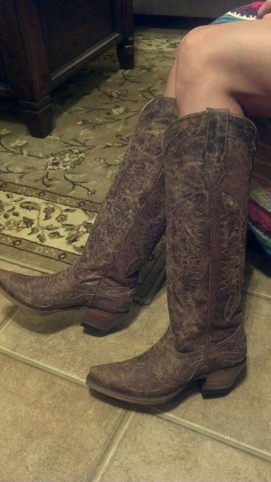 Tall Cowgirl Boots Corral Love Country Girl Thing