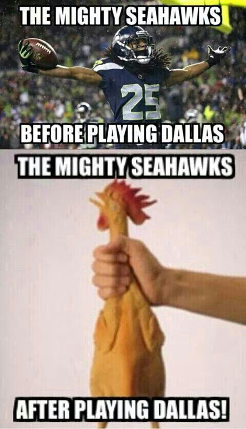 Dallas Cowboys vs Seahawks