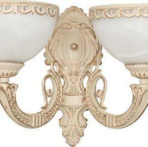 Die Leuchte wird gefertigt aus Metall, Glas MarmoreffektFassung: 2*E27 max. 60WBreite: 420mm, Höh