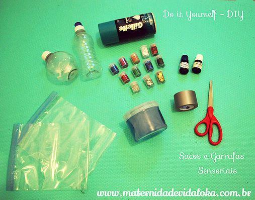 Vida de mãe | Faça Você Mesmo: Sacos e Garrafas Sensoriais