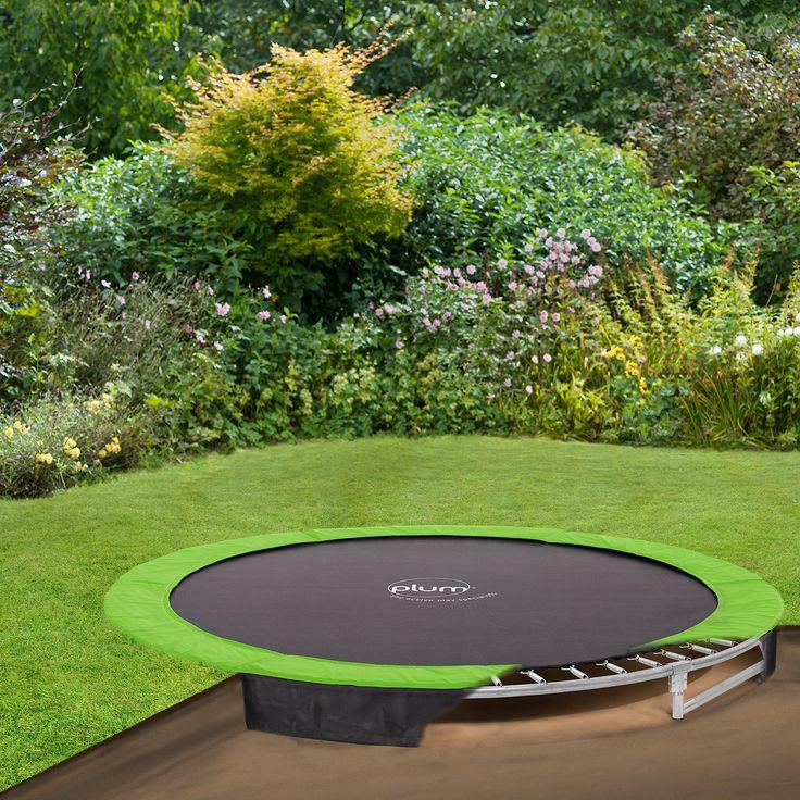 Garden Design With Trampoline best 10+ plum trampoline ideas on pinterest | sunken trampoline