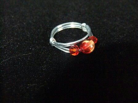 Bead and Wire Ring