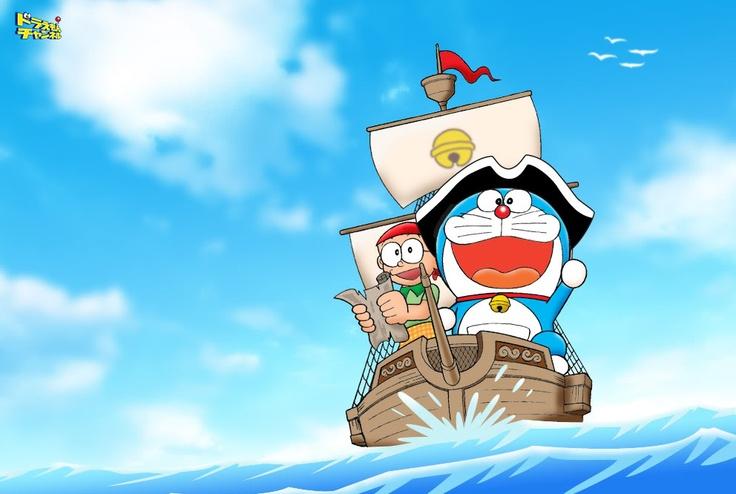 Doraemon.  Tiembla, Jack Sparrow. :)