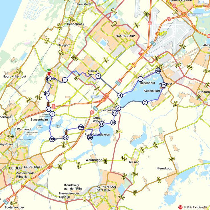 Fietsroute: Langs drie meren van het Groene Hart  (http://www.route.nl/fietsroutes/142536/Langs-drie-meren-van-het-Groene-Hart/)