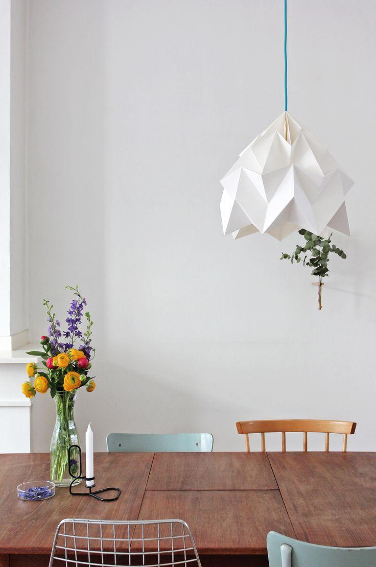 Studio snowpuppe lampjes boven bar keuken