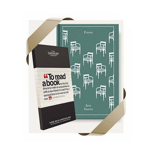 Book Lovers Chocolate And Book Gift Set from notonthehighstreet.com