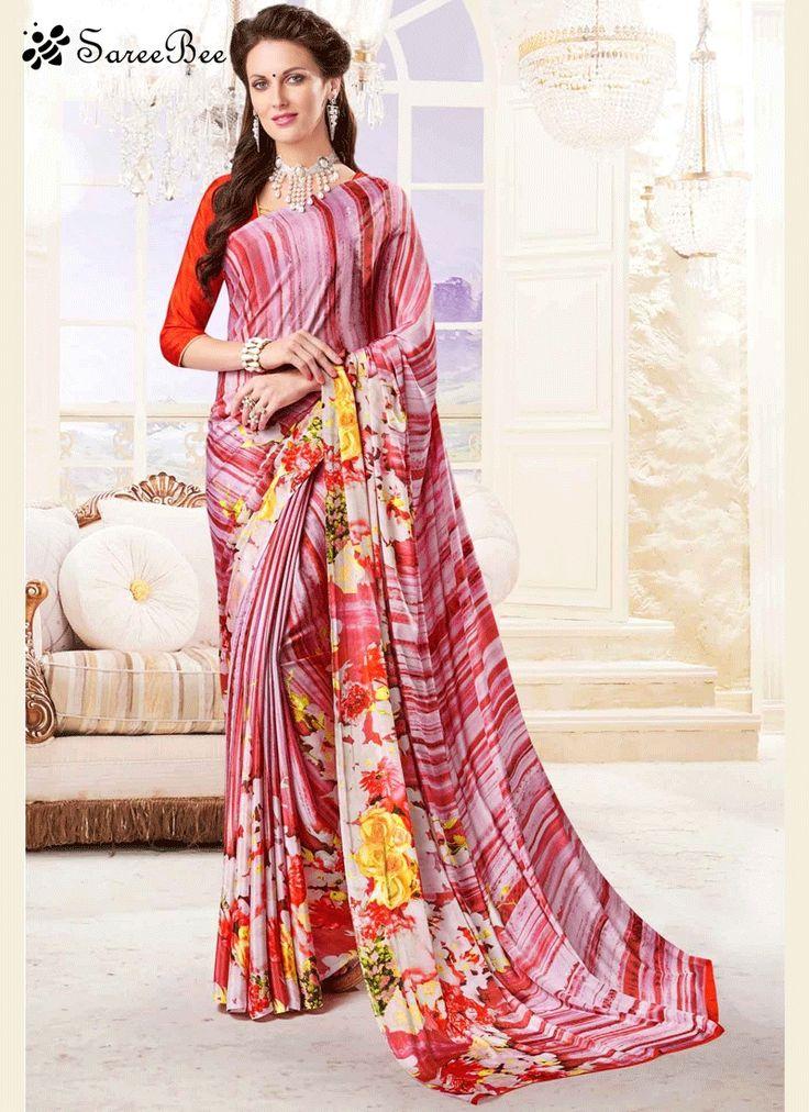 Capricious Print Work Printed Saree  For More Information WhatsApp 7202080091 Or Visit www.SareeBe.com  #red  #designer  #instagram  #kurti  #fashionista  #makeup  #delhi  #outfitoftheday  #women-fashion  #myfirststory  #model  #indian  #saree  #ramadanmubarak  #trendy  #ethnic  #picoftheday  #menonroposo  #roposolove  #cool  #firstpost  #soroposo  #summer-style  #streetstyle  #summer  #newdp  #beauty  #traveldiaries  #styles  #youtuber  #bestSeller