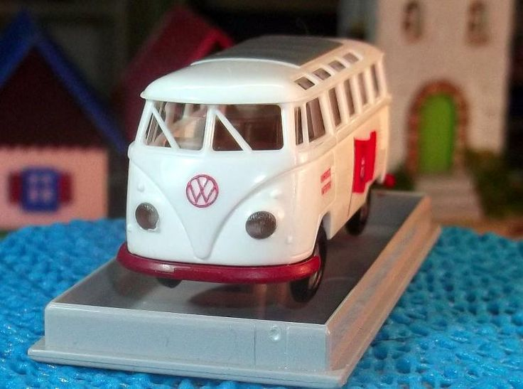 "Brekina Sondermodell VW T1 Samba Bus ""Hamburger Händlertreffen"" RAR"
