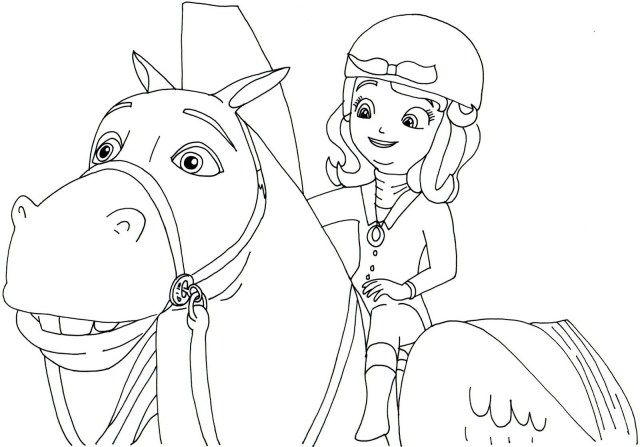 27 Awesome Photo Of Sofia The First Coloring Page Albanysinsanity Com Disney Princess Coloring Pages Princess Coloring Pages Horse Coloring Books